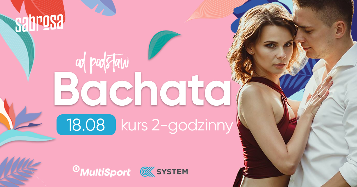 Bachata kurs 2-godzinny  w Salsa Sabrosa Dance Studio - Kraków