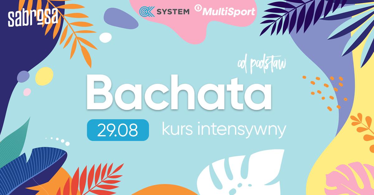 Bachata kurs intensywny  w Salsa Sabrosa Dance Studio - Kraków