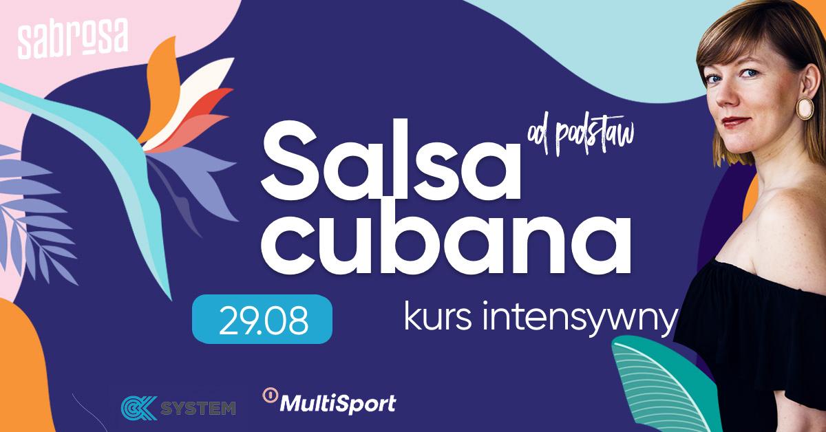 Cubana od podstaw - intensywnie w Salsa Sabrosa Dance Studio - Kraków