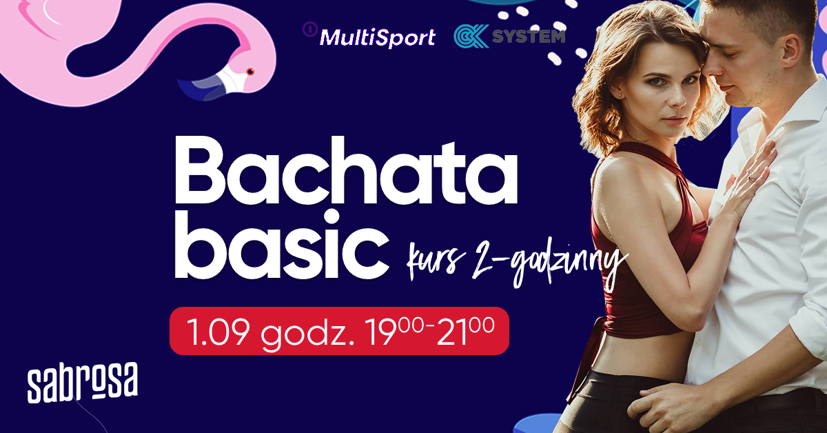 Bachata basic kurs 2-godzinny  w Salsa Sabrosa Dance Studio - Kraków