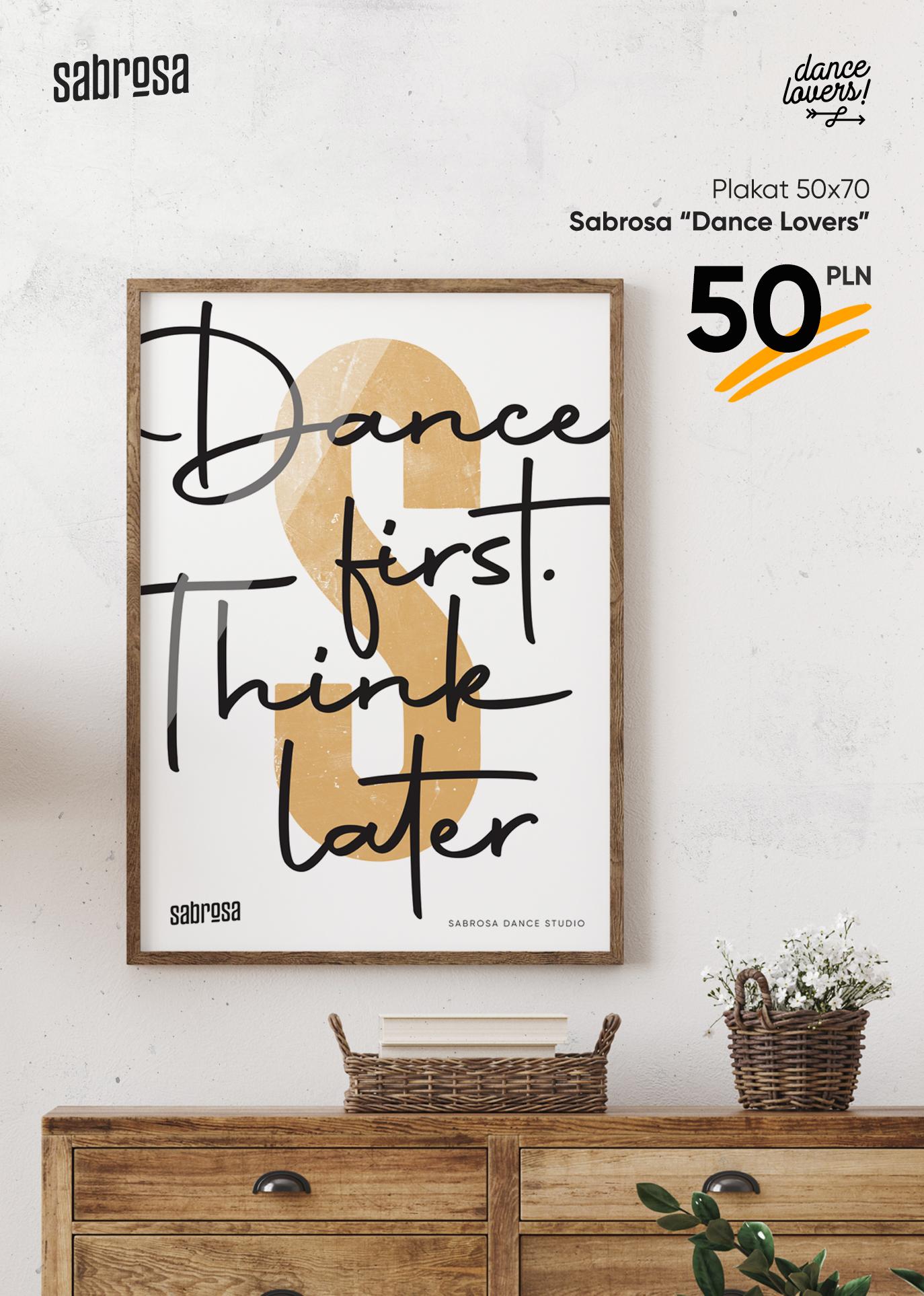 Plakat na każdą okazję  w Salsa Sabrosa Dance Studio - Kraków