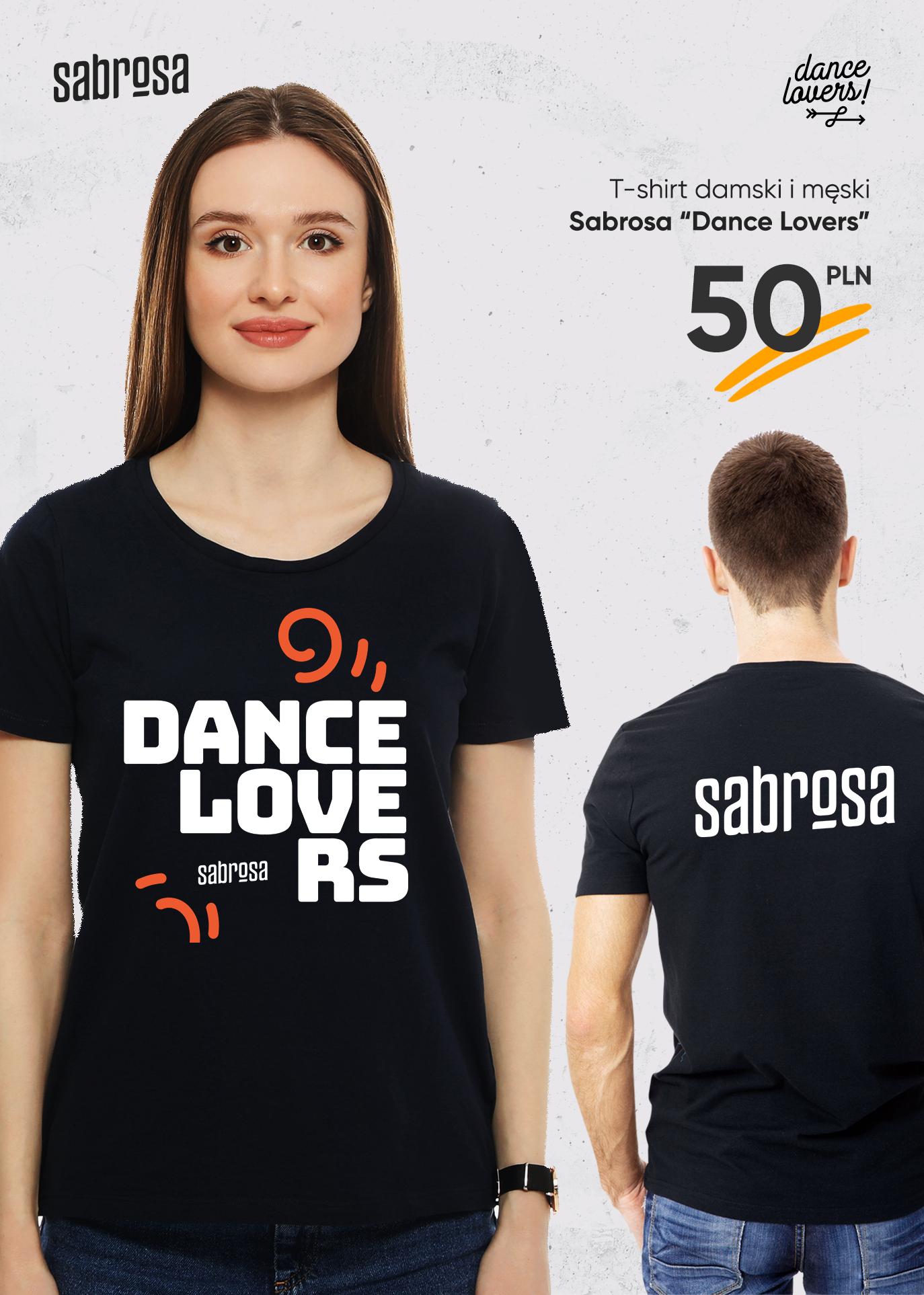 Koszulka <Dance Lovers> w Salsa Sabrosa Dance Studio - Kraków