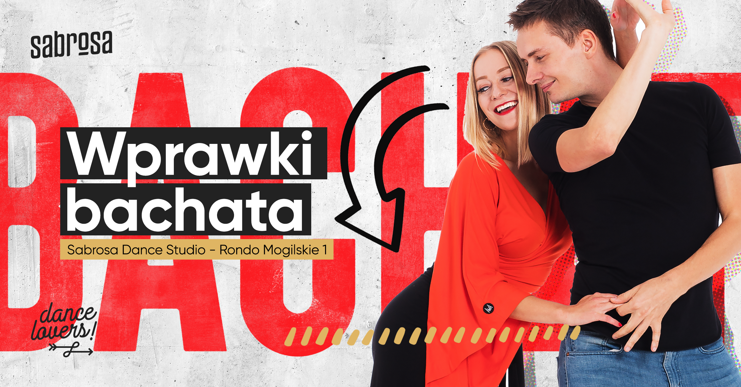 Wprawki Bachatowe  w Salsa Sabrosa Dance Studio - Kraków