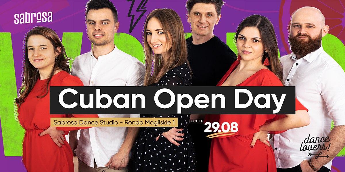 Cuban Open Day  w Salsa Sabrosa Dance Studio - Kraków
